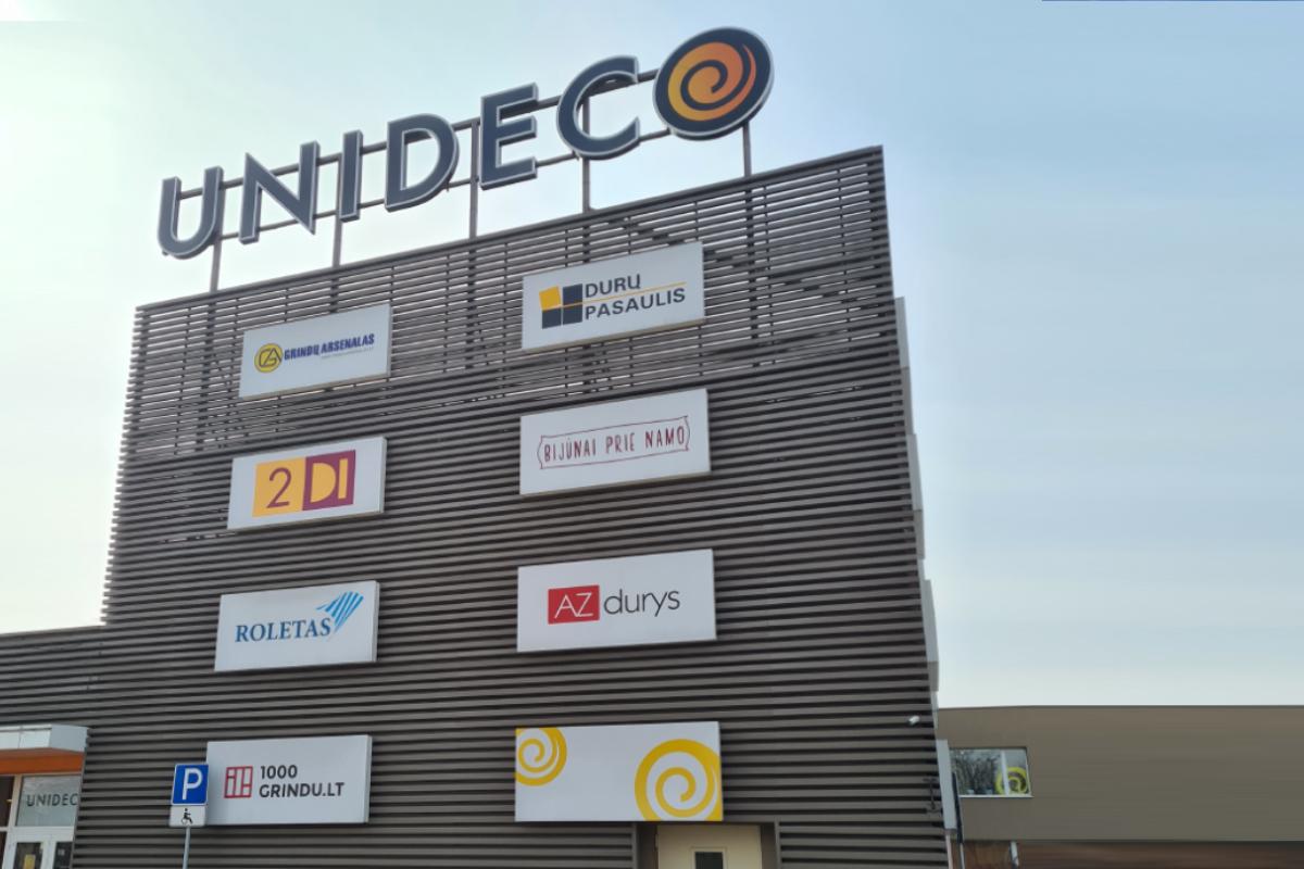 PC UNIDECO, II aukštas